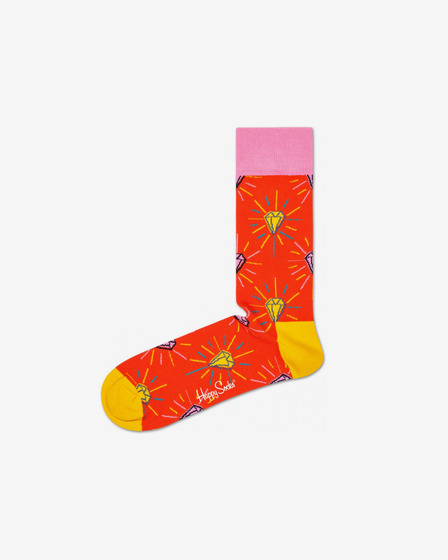 Happy Socks Pink Panther Pink Plunk Plink Zokni